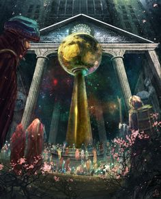 Entrance to Hsien T'un - The Lunar Kingdom by Suiatsu
