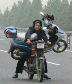 Yo dawg, I heard you like bikes!
