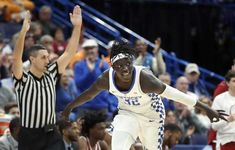 Amazing game today for Wenyen Gabriel.  3 pointer after 3 pointer