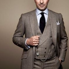 Men's three piece suit.    Www.knmphoto.com.au