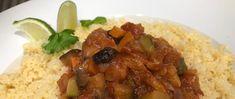 Vegetargryte inspirert fra det marokkanske kjøkken Frisk, Couscous, Grains, Food, Cilantro, Essen, Meals, Seeds, Yemek