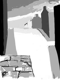 Dowlais 2014. Alan Jenkins iPad Art.