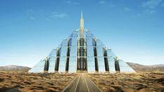 Timelink, Ziggurat, Carbon Neutral City, Dubai Architecture,  Sustainable Communities