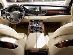 Audi A8  Interior Hd Wallpaper