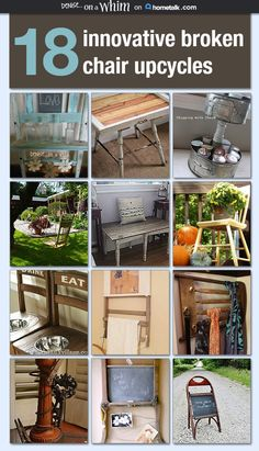 I was asked to curate a new board for Hometalk that is all about repurosing broken chairs. I love upcycling pieces and parts of broken things so I had a lot of…