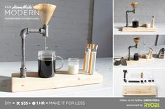 EP54 Pipe Coffee Maker #DripCoffeeMaker