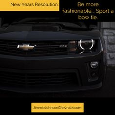 Browse our wide selection of bow ties at JimmieJohnsonChevrolet.com and get the New Year started right!