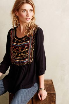 Ari embellished tunic fashion stitch fix одежда, стиль бохо, Mode Hippie, Mode Boho, Looks Style, Style Me, Bohemian Style, Boho Chic, Hippie Chic, Pretty Outfits, Cute Outfits
