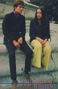 Olivia Hussey + Leonard Whiting (1968)
