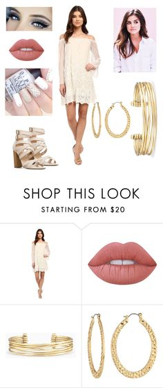 """""""Evanna McCready - Party💫"""" by alex-loves-butterbeer ❤ liked on Polyvore featuring Brigitte Bailey, Lime Crime, Stella & Dot and Fragments"""