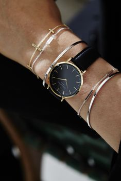 Official ROSEFIELD Ladies Black Tribeca Watch from The Jewel Hut. Shop our gorgeous collection of jewellery and watches and get FREE delivery. High End Watches, Watches For Men, Black Watches, Leather Watches, Ladies Watches, Cheap Watches, Women's Watches, Watches Online, Chanel