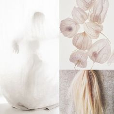 12⎥16 moodboard aureliedhuit.com #moodboard #tendance #decembre #December #inspiration #design #graphic #graphisme #white #blanc #amourencage #physalis #hair #cheveux #blond #pureté #pure #winter #hiver #colors #couleurs Image Pinterest, Inspiration Design, Art Director, Graphic, Colors, Winter, White People