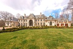 Your luxury real estate destination. Browse & search all the latest million dollar home listings & mansions for sale French Chateau Homes, French Mansion, Modern Mansion, Mega Mansions, Mansions For Sale, Mansions Homes, Stone Mansion, Dream Mansion, Luxury Homes Dream Houses