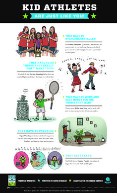 Kid Athletes Legal-Sized Poster  #KidLegends #books #education Kid President, Artists For Kids, Classroom Posters, Athletes, Legends, Education, Sports, Books, Hs Sports