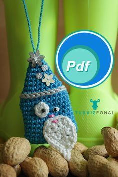 Santa Claus crochet amigurumi pattern by Turkizfonal Tamara Gyd