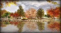 LuMièRe d'AutoMne - Landscape Second Life