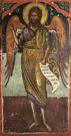 Byzantine Icons, Byzantine Art, Orthodox Christianity, John The Baptist, Orthodox Icons, Peter Paul Rubens, Ikon, Family Portraits, Fresco