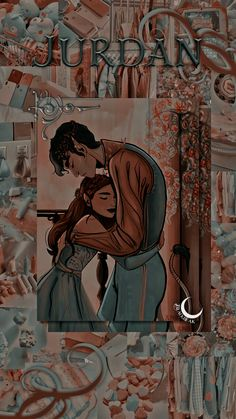 Lockscreen wallpaper - Jude and Cardan (The Cruel Prince)