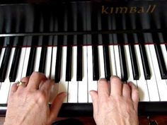 Piano Finger Exercise #1 in C Major Position