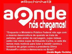 Blog do Eduardo Nino : @Rochinha13: Aonde nós chegamos!