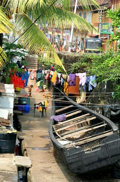 Fort Cochin Streets. Kerala. India | NEVER Run a Washer Cleaning Cycle Again!!! | Permanently Eliminate or Prevent Washer Odor with Washer Fan™ Breeze™ | WasherFan.com | Installs in Seconds... No Tools Required! #WasherOdor#SWS #Laundry