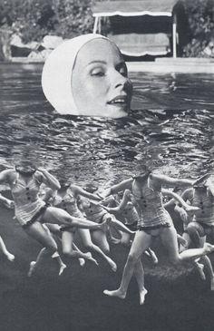 "Saatchi Art Artist Deborah Stevenson; Collage, ""Collective Unconscious"" #art"