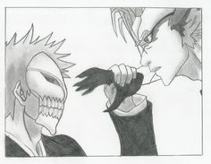 Ichigo VS Grimmjow - Bleach