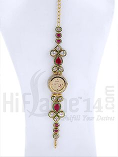 Designer Ruby Stone Bracelet Watch rent in india. Designer Ruby Stone Bracelet Watch affordable price at Indias best rental and shopping Site - www.HiFlame14.com