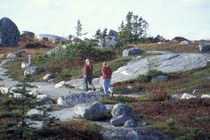 Hiking in Prospect, Nova Scotia