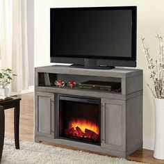Brookhaven Media Electric Fireplace