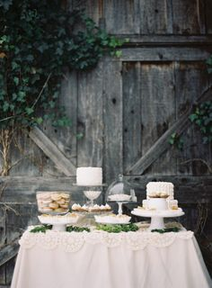 Everything Gal cakes and desserts | Sincerely, Ginger Weddings & Events | Weber Photography