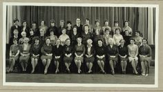Teachers at Roundhay High School, 1966