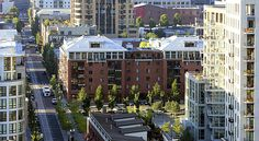 Portland pearl district.  Shopping, restaurants..