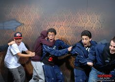 Scared these bro's so bad you're seeing double! Today's ScareBro's courtesy of Nightmares Fear Factory. www.NightmaresFearFactory.com #niagarafalls #haunted #house #niagara #attractions #scary #fun #summer #longweekend