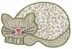 65 best Ideas for patchwork animals patterns applique templates Cat Quilt Patterns, Applique Patterns, Applique Quilts, Machine Embroidery Designs, Felt Patterns, Applique Ideas, Cat Template, Applique Templates, Owl Templates