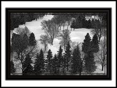 This RIVO Art composition is titled: DPC 2855 Snow Shadows.  I love taking photos from different perspectives.  I created a 4-season series from the same view from a doctor's office at Mayfair.  While he love trains, he did fall in love with this personalize collection.