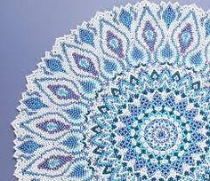 Image result for free seed bead patterns for doilies