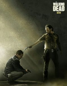 NEGAN SURRENDERS TO RICK!