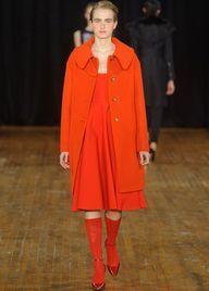 Philosophy by Alberta Ferretti Fall 2013 -- Fall 2013 fashion trends: Oversized coats