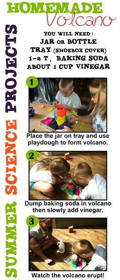 Easy ~ Summer Science Projects