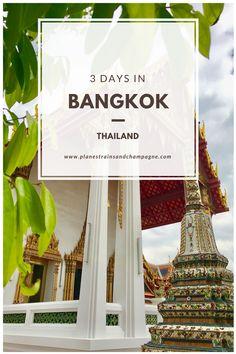 3 Day Itinerary to Bangkok  Bangkok   Itinerary   Thailand   Muay Thai   Temples   Wat Pho   Wat Arun   Floating Market   Shopping   Weekend Market   3 Day Guide   Rooftop