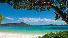 Lindquist Beach via @Virgin_Islands