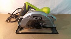 "Ryobi CSB135L 7-1/4"" circular saw with laser 03232017.57 #Ryobi"