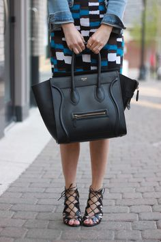 Celine Mini Luggage Tote - I've been lusting over this bag for years!