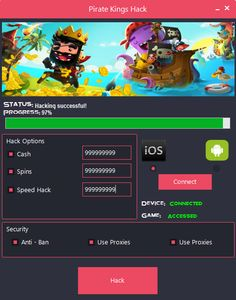 "Pirate Kings Hack Cheats Tool This Pirate Kings Hack will help you generate unlimited Cash and Spins   Pirate Kings Hack Cheat is our newest ""modhacks.com"" fresh from the oven. We worked hard on this one because,being a multi-platform Exploit it can be very difficult to write. After we tested this Pirate Kings Hack like someone's life depended … Continue reading Pirate Kings Hack Cheats"