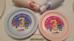 team umizoomi plates and cups