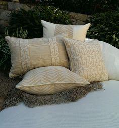 NEW- Karen Robertson / Dune Collection - Indoor/Outdoor Pillows   Beach Pillows   Coastal Home Pillows
