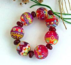 Angelika Kaufmann #lampwork #beads