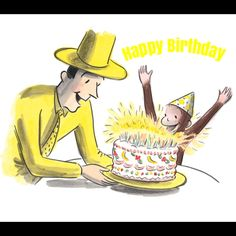 Free curious george birthday ecards curious george birthday cards free curious george birthday ecards curious george birthday cards pinterest curious george birthday and curious george bookmarktalkfo Images