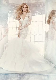 Hayley Paige 6603 Tanner Wedding Dress photo